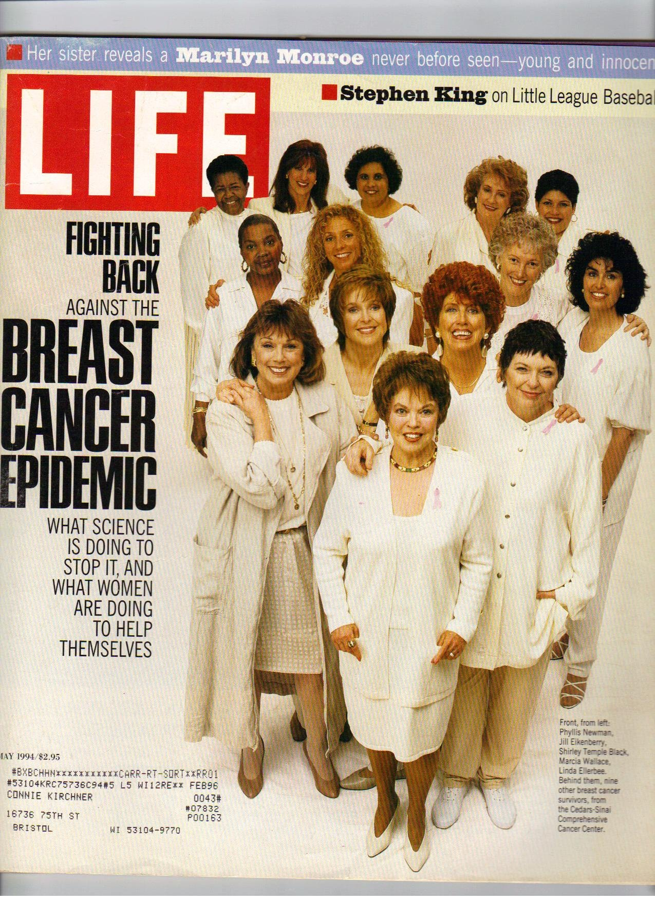 LIFE Magazine - Monthly Issue: May, 1994 - Fightning Breast