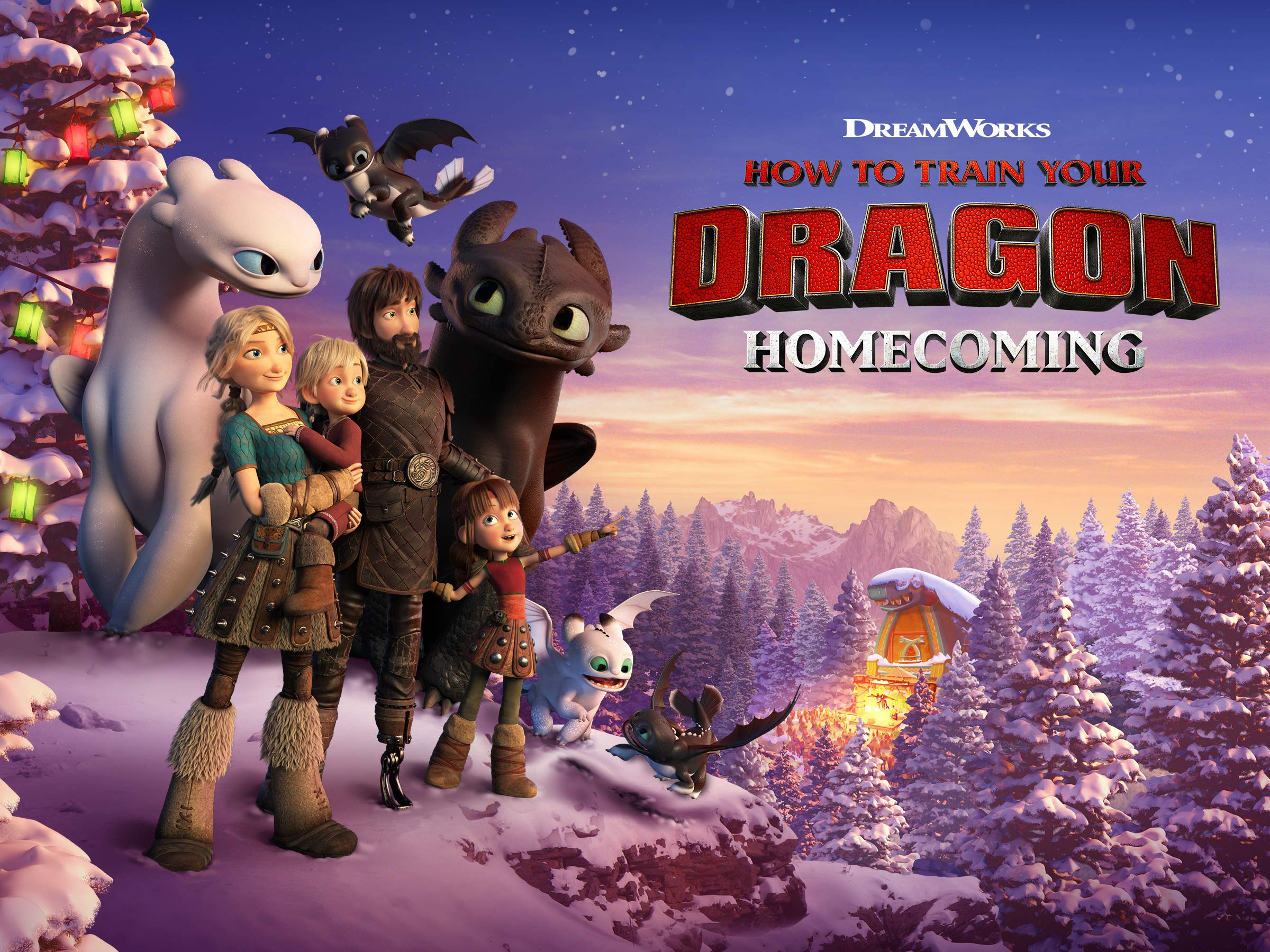 Watch How To Train Your Dragon Homecoming Prime Video