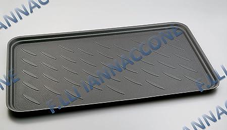Made in Italy Misure : 90 X 50 X H3-90 X 70 X H3-90 X 85 X H3-100 X 90 X H3 F.LLI IANNACCONE Vasca Posteriore Varie Misure A SECONDA DELLAUTO Universale con Bordi Esterni RIALZATI 90X50XH.3