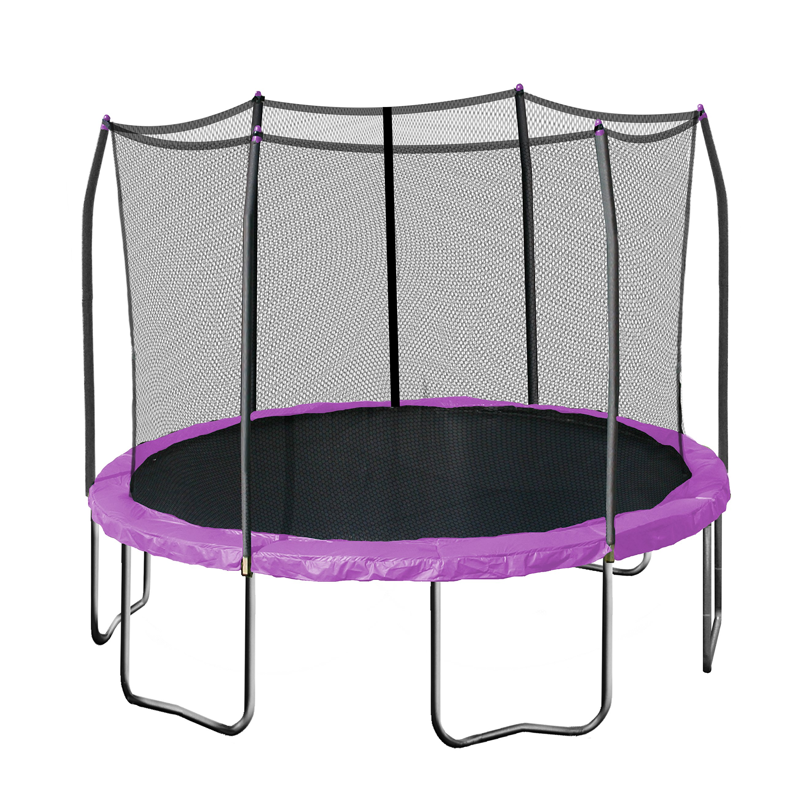 Skywalker Trampolines Round Trampoline with Enclosure, Purple, 12-Feet by Skywalker Trampolines