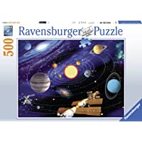 Ravensburger, Rompecabezas Sistema Solar, 500 Piezas