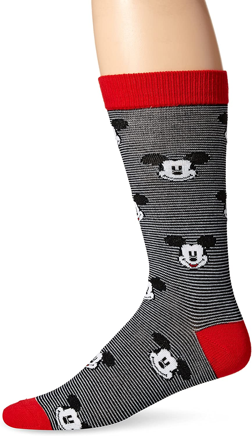 Disney Mickey Mouse Men's Single Crew Socks