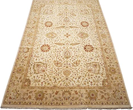 Amazon Com Persian 12x19 Sultanabad Agra Hand Knotted Wool Area Rug Carpet 12 2 X 18 6 Ft Kitchen Dining
