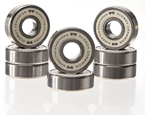 Oldboy Premium Ceramic Bearings for Longboard, Skateboard, Quad Skate, Inline Rollerblades or Scooter Wheels