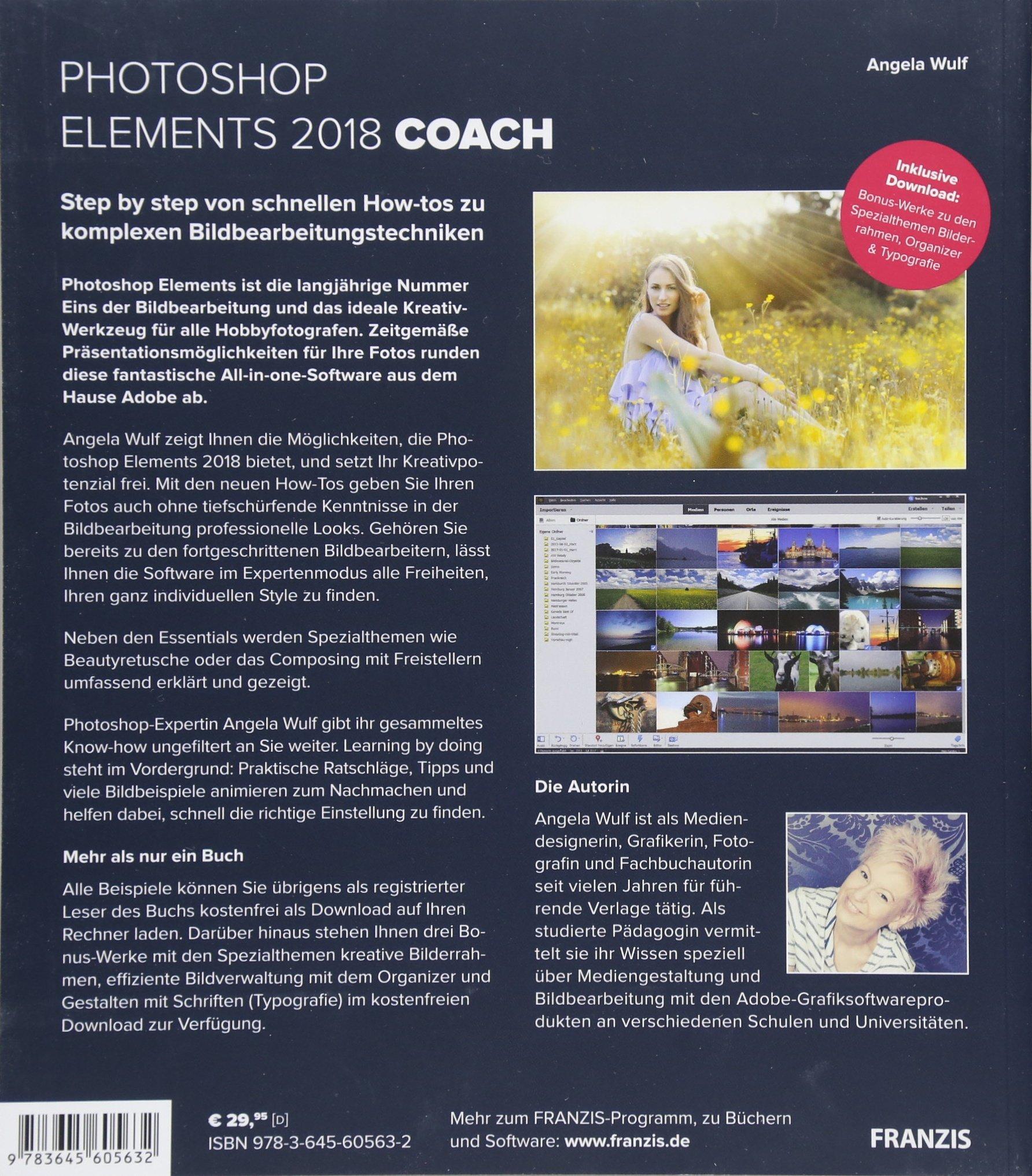 Photoshop Elements 2018 COACH | Ihr persöhnlicher Trainer: Wissen ...