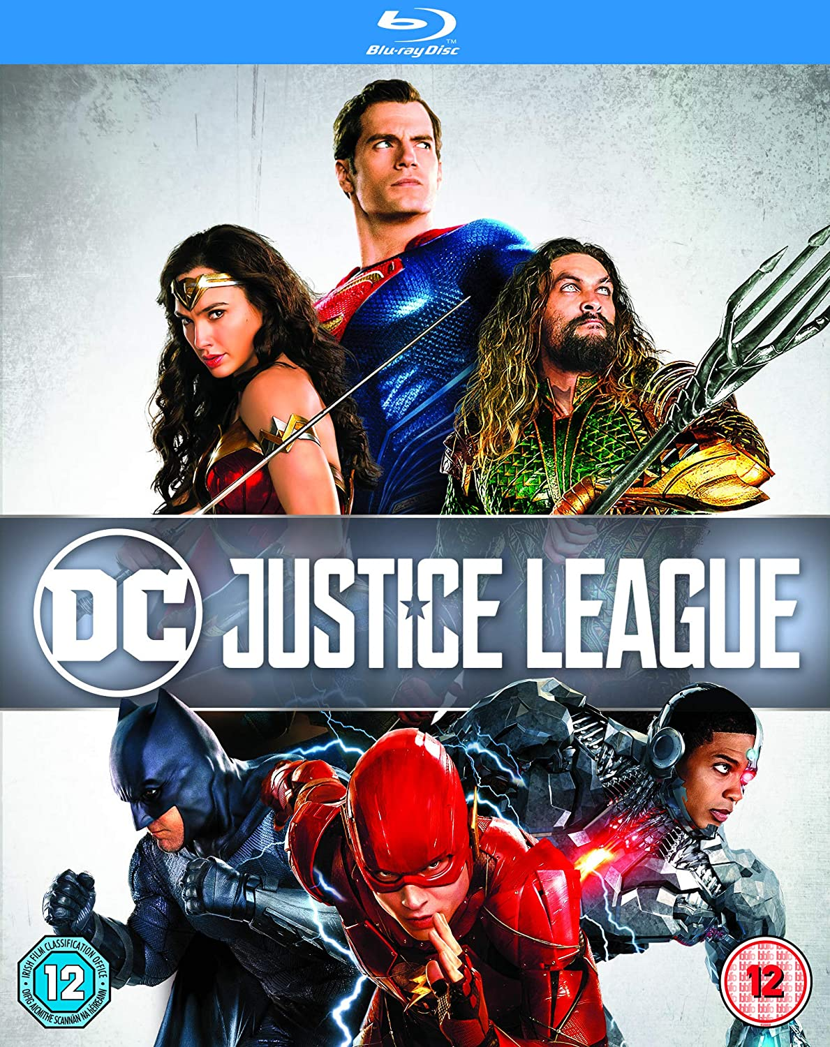 Justice League Blu Ray 2017 Amazon Co Uk Ben Affleck Henry Cavill Gal Gadot Ezra Miller Jason Momoa Ray Fisher Amy Adams Amber Heard Jeremy Irons J K Simmons Fabian Wagner Zack Snyder Ben Affleck Henry