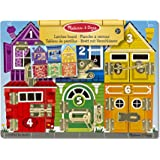 Melissa & Doug 13785 Latches Wooden Activity Board
