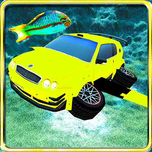 Flying Submarine Racing Car (Diver Floating)