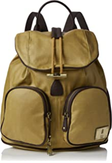 Fly London - Deia613fly, Bolsos mochila Mujer, Yellow (Mustard/dk.brown