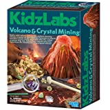 4M Volcano and Crystal Mining Science Kit