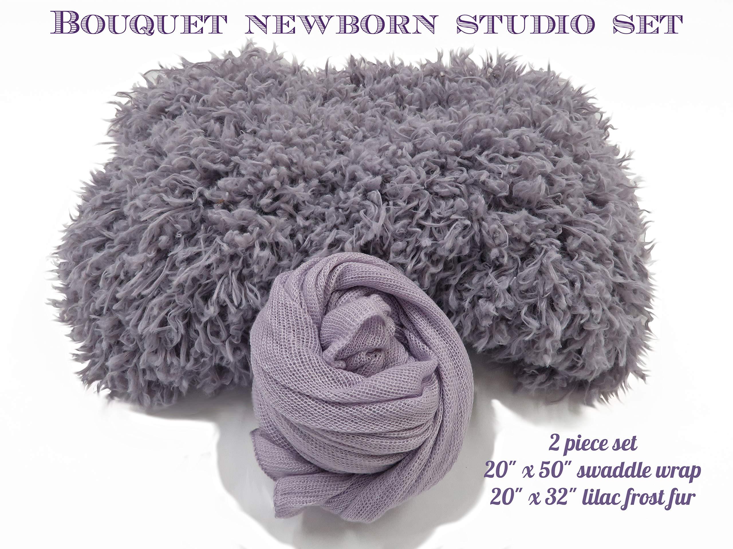 Custom Photo Props, Professional Newborn Photography, Bouquet Studio 2 Piece Set