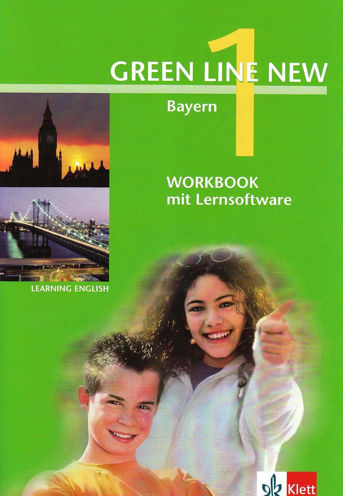 Green Line NEW Bayern: Workbook mit Lernsoftware Band 1: 5. Schuljahr (Green Line NEW. Ausgabe für Bayern)