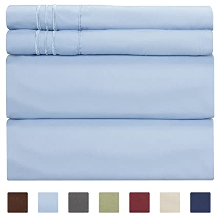 Amazon Com Queen Size Sheet Set 4 Piece Hotel Luxury Bed Sheets