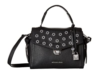 567023b78576 MICHAEL Michael Kors Bristol Small Satchel, Black. Roll over image to zoom  in