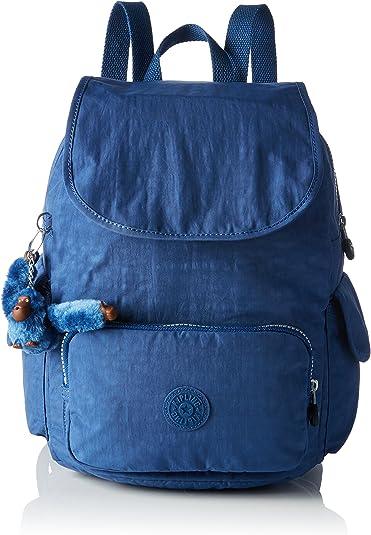 Kipling City Pack S, Bolso de Mochila para Mujer, Azul (REF33V Jazzy Blue), 27x33.5x19 cm (B x H x T): Amazon.es: Zapatos y complementos