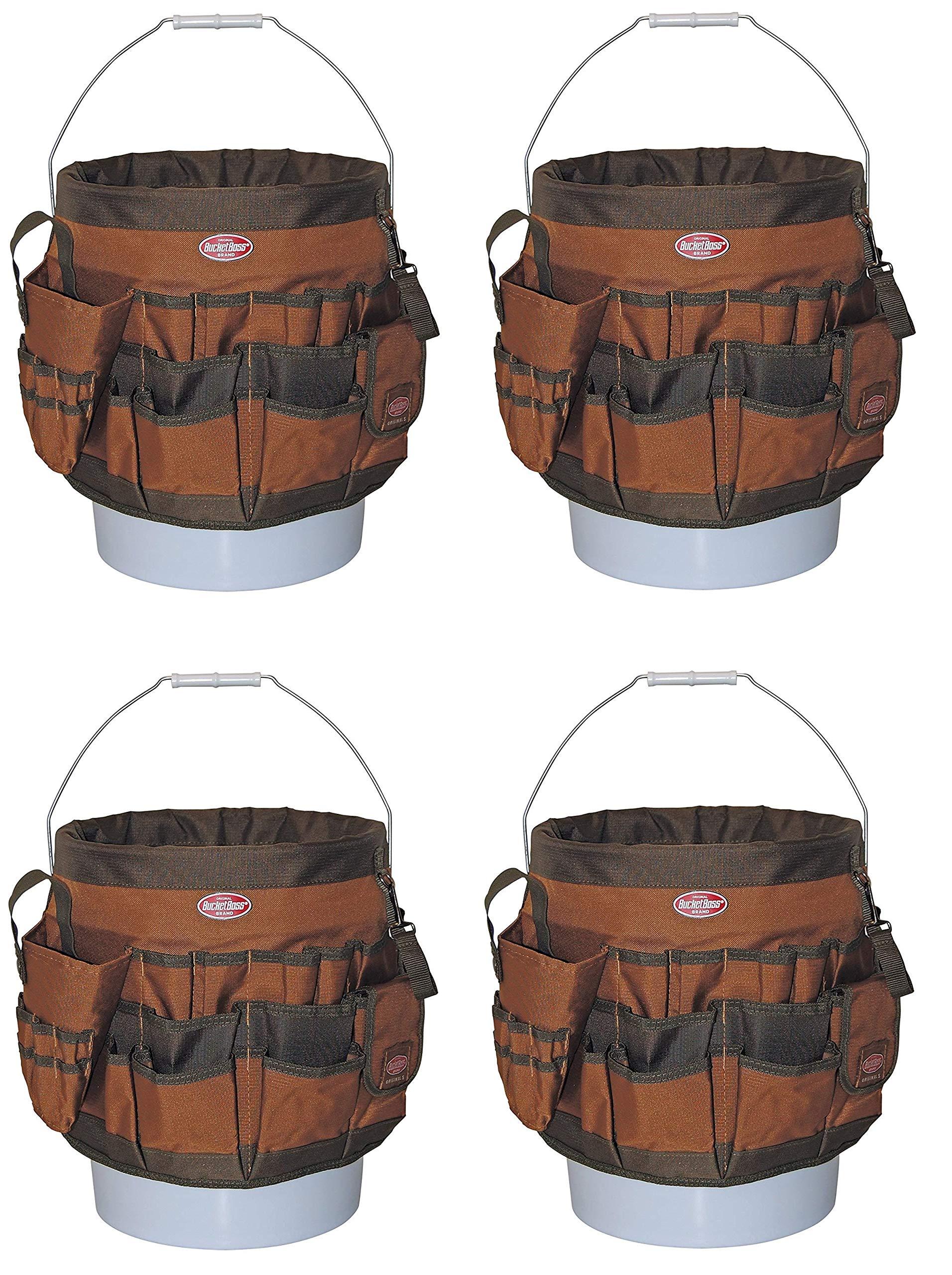 Bucket Boss 10056 Bucket Tool Organizer with 56 Pocket (Pack of 4)