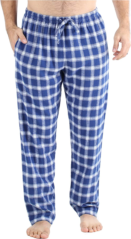Frankie /& Johnny Mens 100/% Cotton Flannel Pyjama Trouser PJ Pants