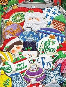 Springbok's 500 Piece Jigsaw Puzzle Christmas Ornament Cookies