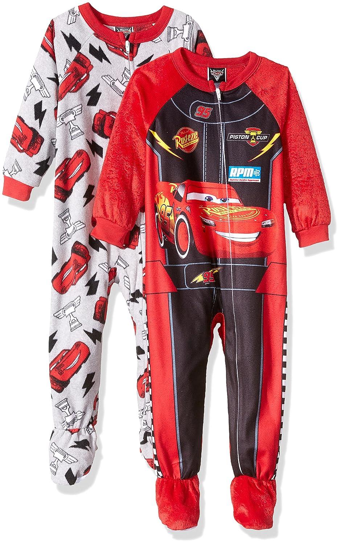 Disney Boys' Cars 2-pack Blanket Sleeper Red 2T 21C3060EBFDZ