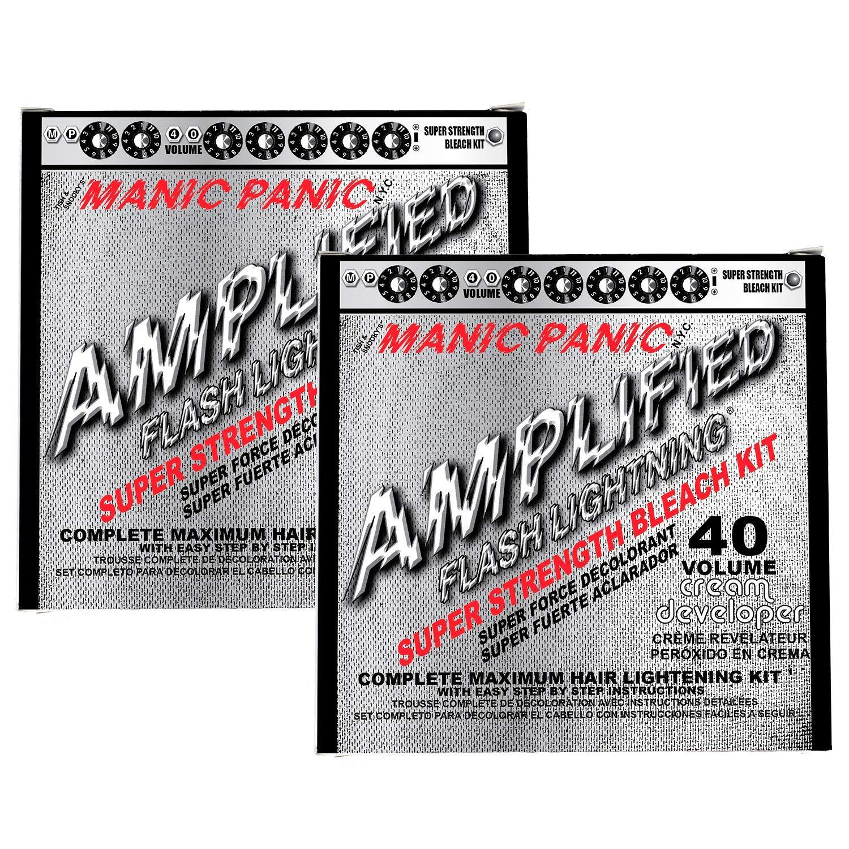 Manic Panic 40 Vol Lightning Hair Bleach Kit 2PK