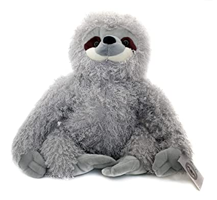 Amazon Com Kinrex Three Toed Sloth Stuffed Animal Super Realistic