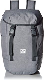 810939c3764a Herschel Iona Backpack Mid Grey Crosshatch One Size