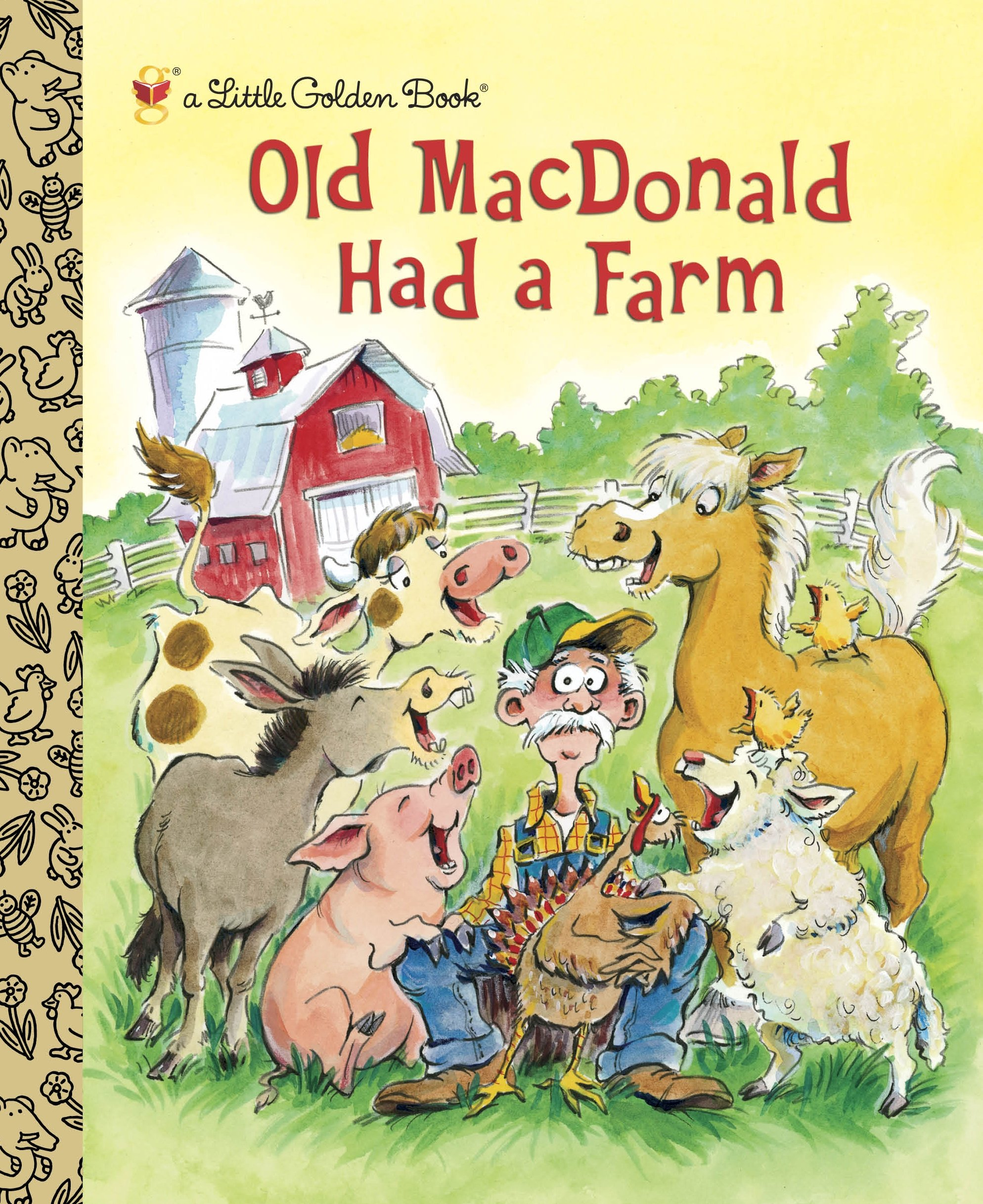 Pdf Old Macdonald Had A Farm Little Golden Book By Oh