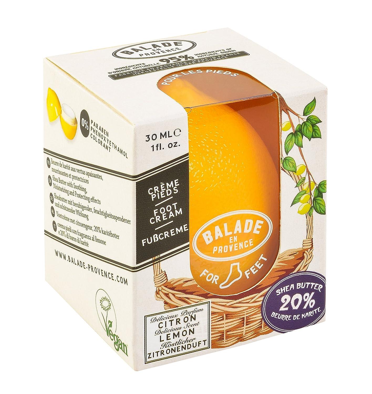 Balade En Provence - Lemon FOOT Cream 30ml, Vegan