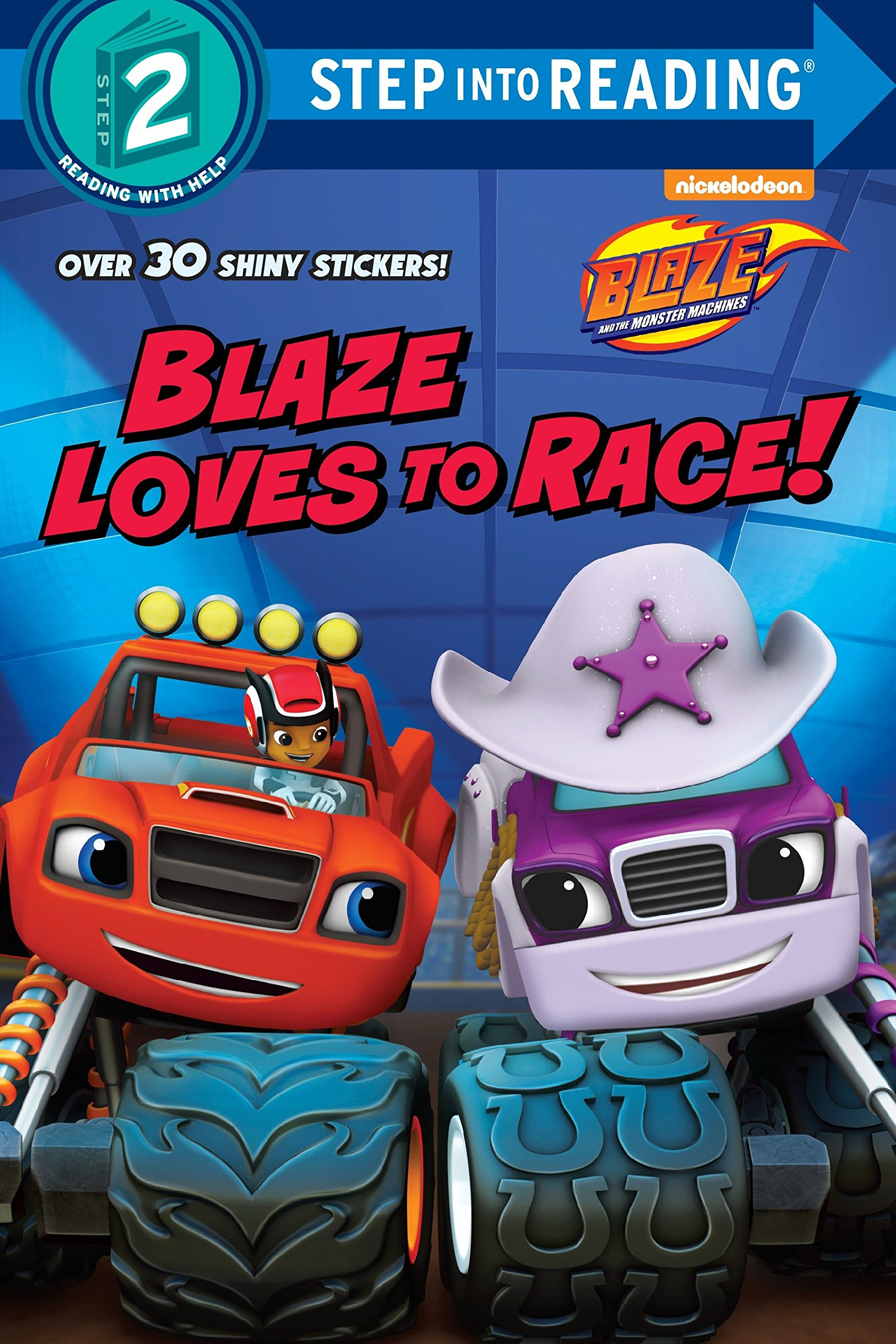 Blaze Loves to Race! (Blaze and the Monster Machines) (Step into Reading) pdf
