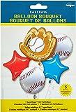 Anagram International Baseball Bouquet, Multicolor