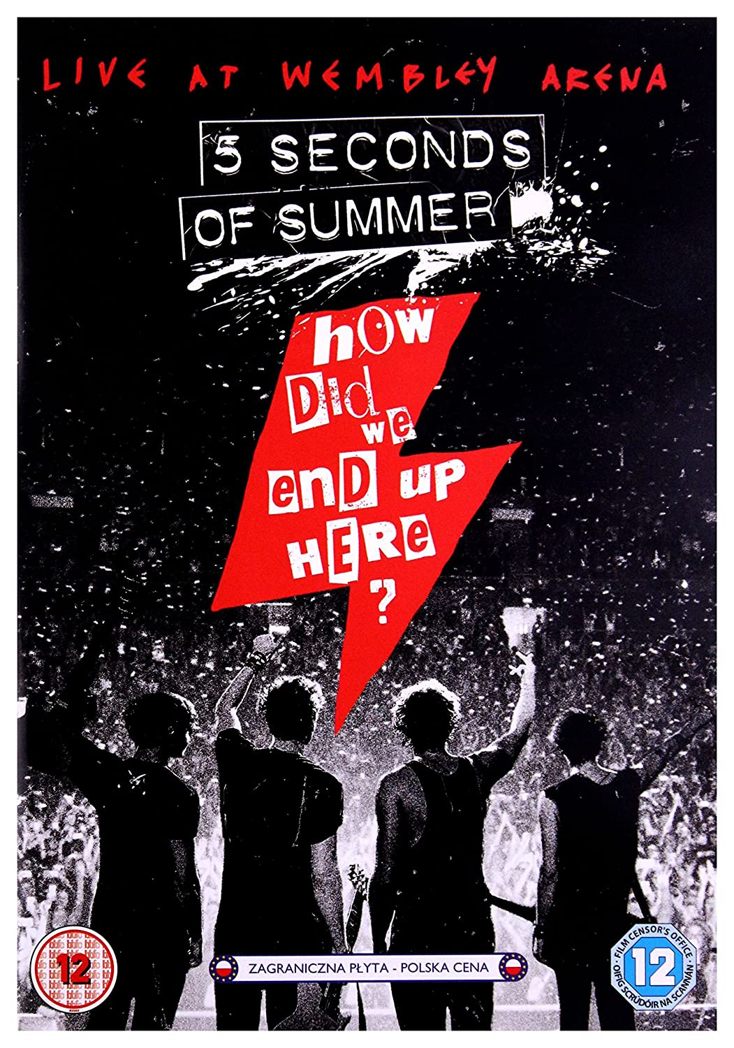 How Did We End Up Here 5 Seconds Of Summer Live At Wembley Arena Dvd Region Free Movies Tv