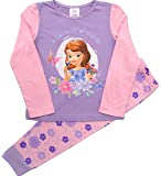 Girls Disney Princess Sofia The First Snuggle Fit Pyjamas Ages 12 Months to 5 Years