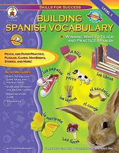 Building Spanish Vocabulary, Grades PK - 12