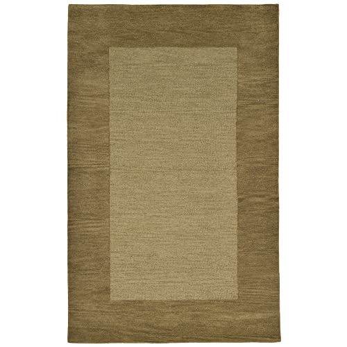 Liora Manne Madrid Border Rug, 5 by 8-Feet, Sage