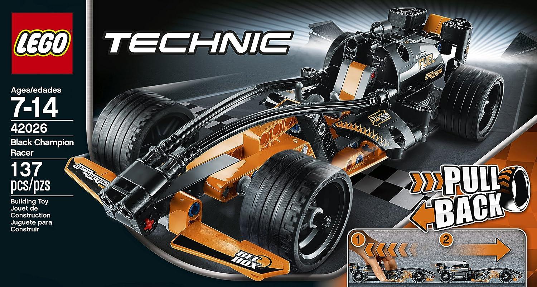 Amazon.com: LEGO Technic 42026 Black Champion Racer Model Kit ...