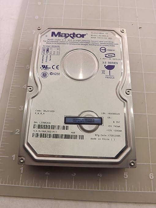 MAXTOR 6L080L0 DRIVERS FOR WINDOWS DOWNLOAD