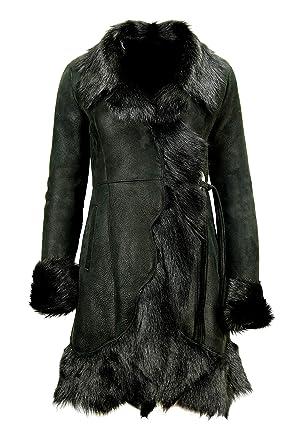 Wear Lambskin Women's CoatBlack Exclusive Sheepskin Dx eHIYDEW92