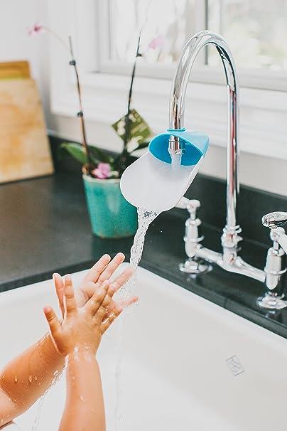 Extension de robinet rapprochent le jet d/'eau du bord de l/'évier ou du lavabo!