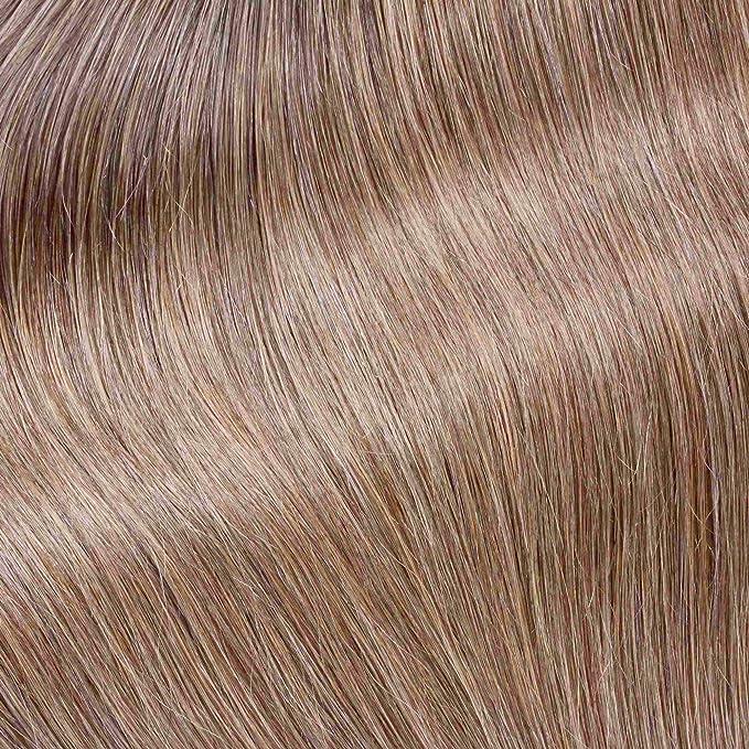 Hair2Heart 50 x 0,5g Extensiones de Queratina - 30cm - Liso, Color 14 Rubio Oscuro: Amazon.es: Belleza