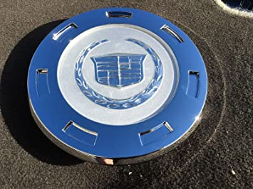 Replacement D098 9596649 07-12 Cadillac Escalade Chrome Crest 22 Wheels Center Hub Cap 07 08 09 2010 2011 2012 by