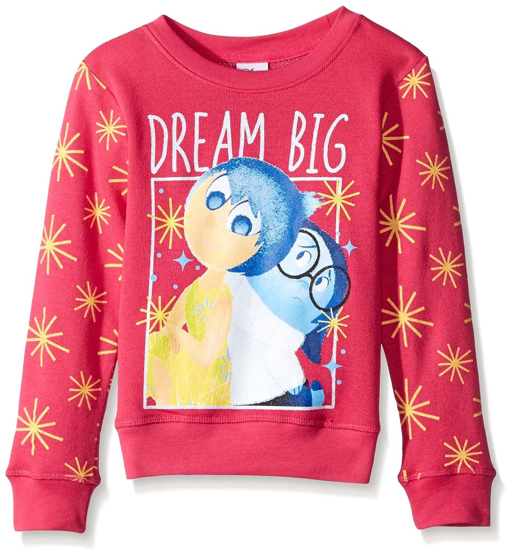 Disney Girls Little Girls Long Sleeve Crewneck Sweatshirt Freeze Children' s Apparel FESS578-5S94
