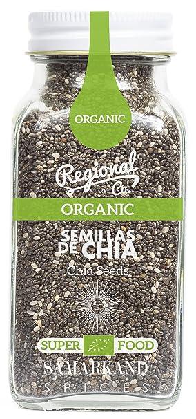 Chía Orgánica & Ecológica (Semillas de Chia) de Samarkand 125 gr - Orgánico