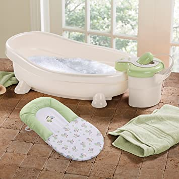 Amazon com   Summer Infant Soothing Spa and Shower Baby Bath   Baby Bathing  Seats And Tubs   BabyAmazon com   Summer Infant Soothing Spa and Shower Baby Bath  . Clawfoot Baby Bath Tub. Home Design Ideas