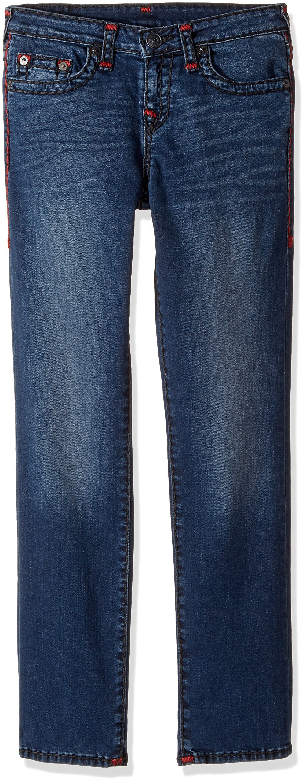 True Religion Little Boys' Geno Super T Jean, Soft Sound, 7