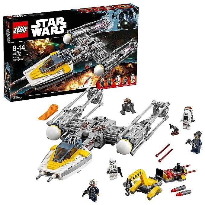 Lego Star Wars 75172 - Y-Wing Starfighter Spielzeug: Amazon.de ...