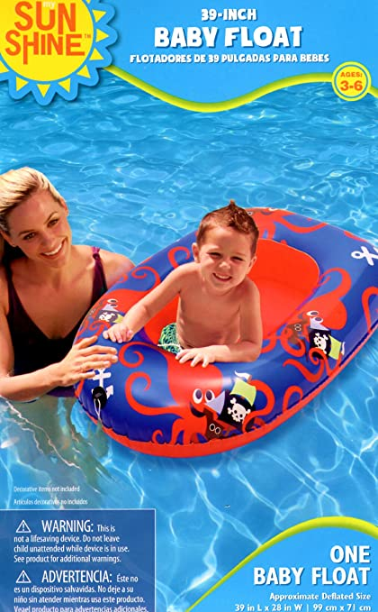 Sunshine 39-inch Baby Float - Octopus