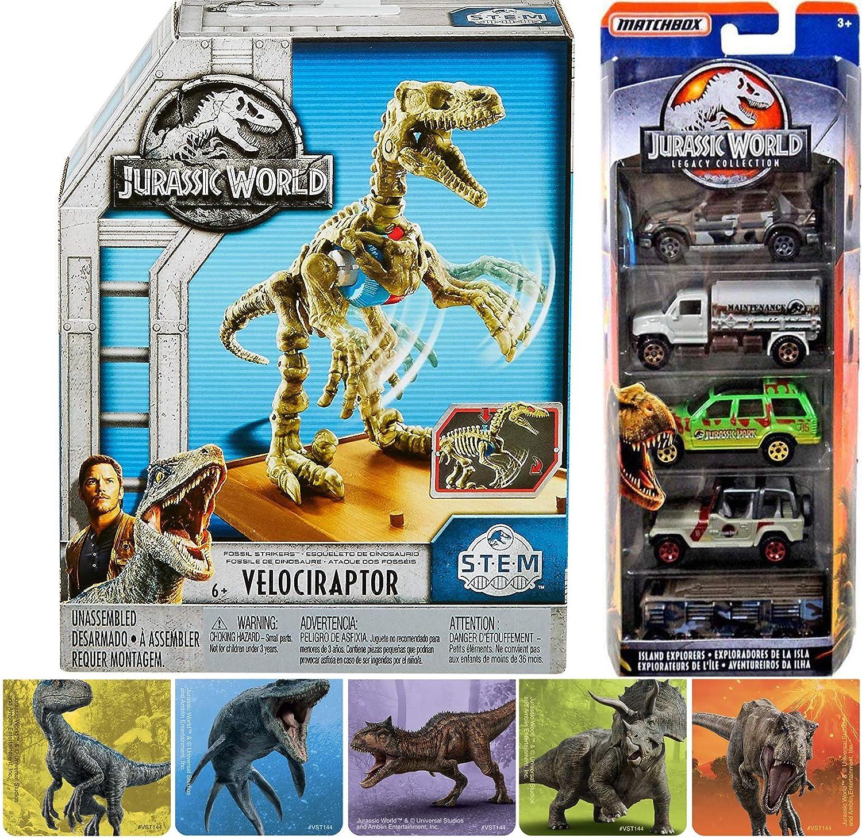 Amazon com: Attack & Strike Jurassic Dinosaurs World Cars