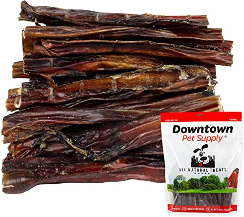 Downtown Pet Supply 6 and 12 inch American USA Bully Sticks for Dogs Bulk Bags by Weight Made in USA – Odorless All Natural Dog Dental Chew Treats, High in Protein, Great Alternative to Rawhides