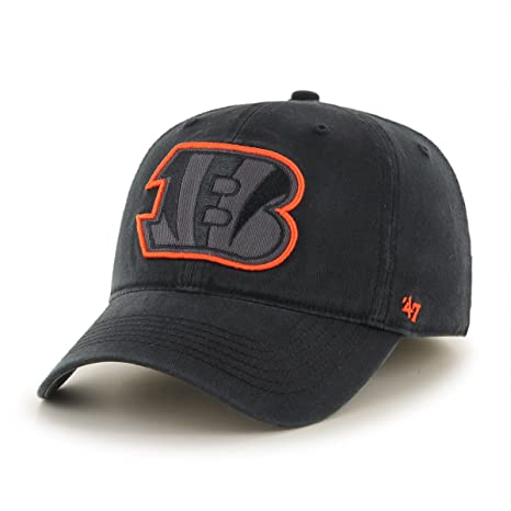 official photos b8853 ae86a  47 NFL Cincinnati Bengals Sawyer Closer Stretch Fit Hat, One Size Stretch,  Black
