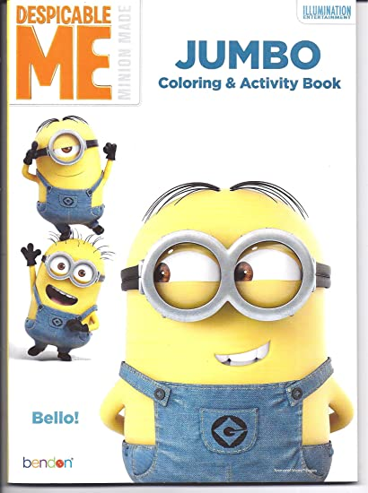Amazon.com: Despicable Me Minion Coloring Book: Toys & Games